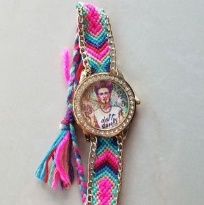 Accessories - Mexican painter Frida kahlo watch